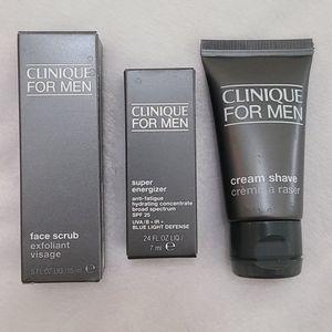 CLINIQUE Men's Face Care Bundle